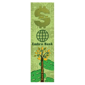 Dollar Sign Shape Bookmark