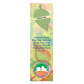 Leaf Seed Shape Bookmark