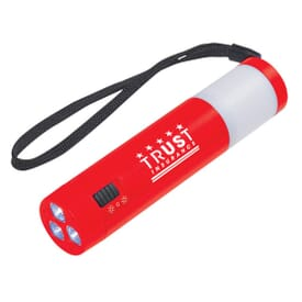Dual Function Camping Light With Strap (Closeout)