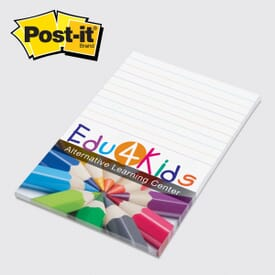 "Post-It® Note Pad -4"" X 6""- 25 Sheets"