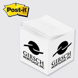 "Post-It® Note Cube, 2-3/4"" X 2-3/4"" X 2-3/4"""