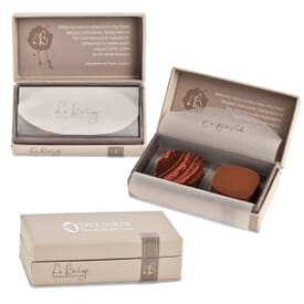 Studio 761 Collection- 2 Piece Belgian Chocolate Gift Box
