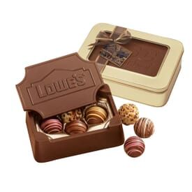 Large Chocolate Box With Truffles