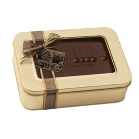 Large Chocolate Box With Chocolate Pieces