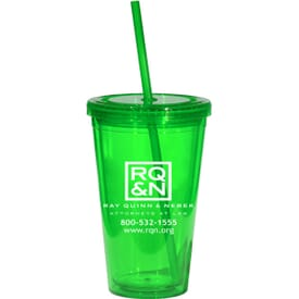16 oz Glacier Double Wall Tumbler