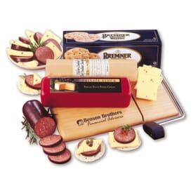 Just Great! Cheese, Sausage & Cracker Set