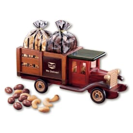 1925 Stake Truck With Chocolate Almonds & Cashews