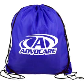 15 X 18 Polyester Drawstring Back Pack