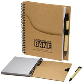 Eco Handy Jotter W/ Pen