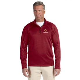 Devon & Jones®  Compass Quarter-Zip- Men's