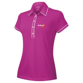 adidas® Piped Polos-Ladies'
