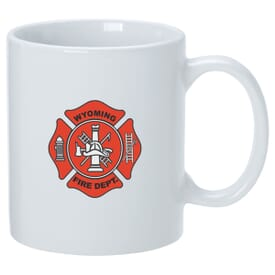 11 oz USA Mug - White