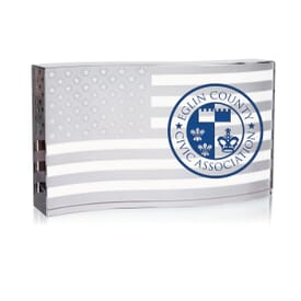 Waving Flag Paperweight