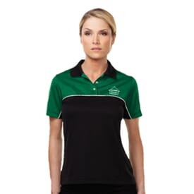 Double-Clutch Women's Mesh Polo