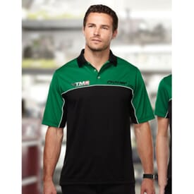 Heel-Toe Men's Mesh Polo