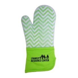 Frosted Silcone Oven Mitt