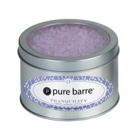 Essential Oil Infused Bath Salts In Large Window Tin