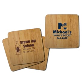 Table Saver Bamboo Coaster