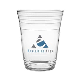 Glass Fill Up Cup- 16 Oz Glass
