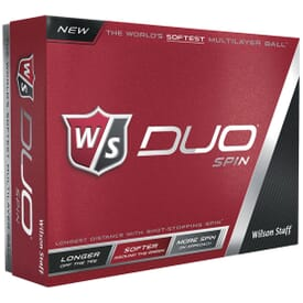 Wilson® Staff Duo Spin Golf Ball