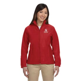 Harriton Zippered Ladies Fleece
