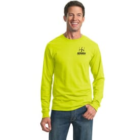 ON SALE-Jerzees® Heavyweight Blend™ 50/50 Cotton/Poly Long Sleeve T-Shirt