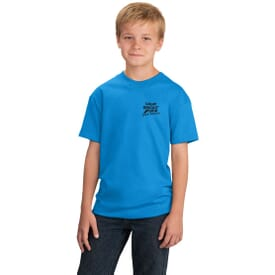 Port & Company® Youth 5.4 Oz 100% Cotton T-Shirt