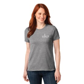 ON SALE-Port & Company® Ladies 50/50 Cotton/Poly T-Shirt
