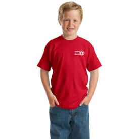 ON SALE-Hanes® Youth Comfortblend® Ecosmart® 50/50 Cotton/Poly T-Shirt