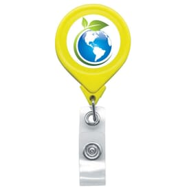 Jumbo Neon Round Badge Reel- Chroma