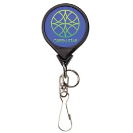 Bamboo Jumbo Round Badge Reel- Label