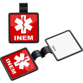 Square Stethoscope ID Tag