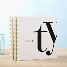 Quotation Book- Ty - Thank You