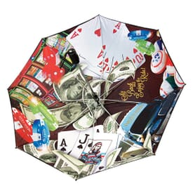 The Vented Windproof Umbrella- Full Canopy Digital Printing