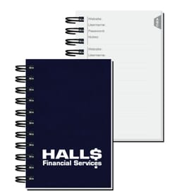 "4"" X 6"" Password Keeper"