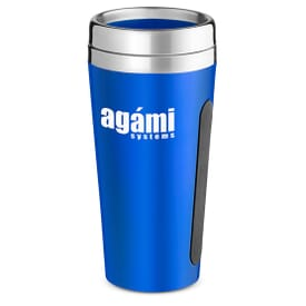 15 Oz. Dual Grip Travel Tumbler