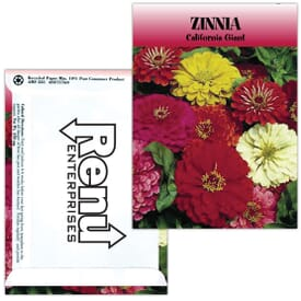 Standard Series Seed Packet- Zinnia