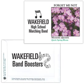 Impression Series Seed Packet- Forget-Me-Not Pink