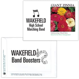 Impression Series Seed Packet- Giant Zinnia