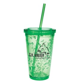 Double Wall Tumbler With Cooling Gel 18 Oz