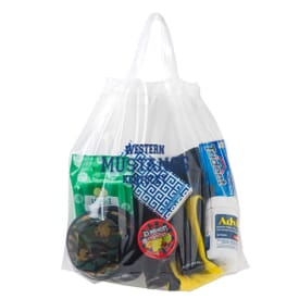 Security Approved Poly Draw Tape Bag