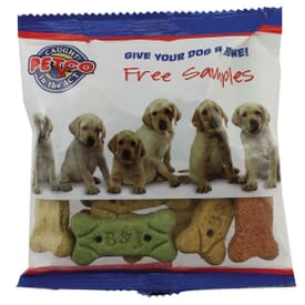 "6"" Zagasnacks Promo Snack Pack Bag With Dog Bones"