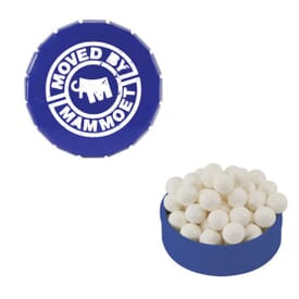 Small Peppermints Snap Top Tin