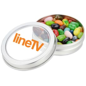 Small Top View Tin With Jelly Belly®