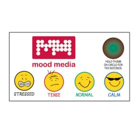 "2"" X 3 1/2"" Grins Stress-Test Business Card Magnet"