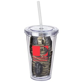 16 Oz. Tumbler With Gourmet Cookies
