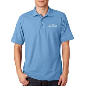 Ultraclub® Men's Basic Blended Pique Polo