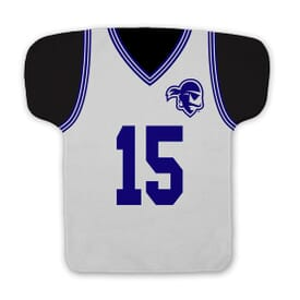 Basketball Jersey Shaped Rally Towel