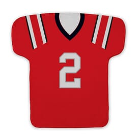 Football Jersey Shaped Rally Towel