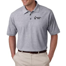 Ultraclub® Men's Whisper Pique Polo